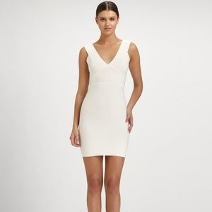 BCBG MAX AZRIA BANDAGE DRESS, SMALL